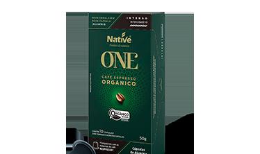 Café Orgânico Espresso em Cápsulas Intenso