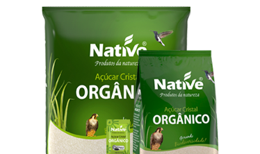 Açúcar Cristal Orgânico Native