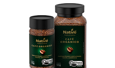 Café Orgânico Instantâneo Native