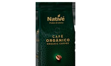 CAFÉ ORGÁNICO TOSTADO EN GRANOS NATIVE
