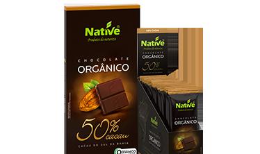 NATIVE 50% COCOA ORGANIC CHOCOLATE
