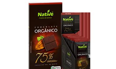 NATIVE 75% COCOA ORGANIC CHOCOLATE