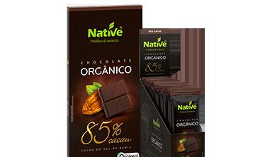 NATIVE 85% COCOA ORGANIC CHOCOLATE