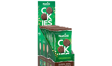 NATIVE QUINOA, OATS, WHEAT AND FLAX FLAVORS COCOA ORGANIC COOKIES