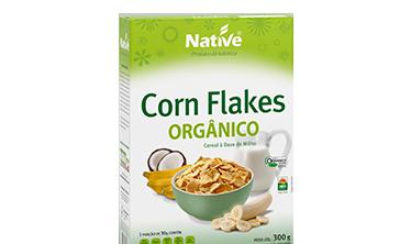 Corn Flakes Orgânico Native