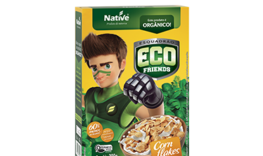 CEREAL ORGÁNICO ECO FRIENDS CORN FLAKES NATIVE