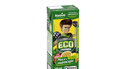 ECO FRIENDS APPLE AND PASSION FRUIT MIX JUICE