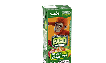 ECO FRIENDS APPLE AND TANGERINE MIX JUICE