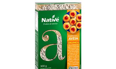 HARINA DE AVENA ORGÁNICA NATIVE