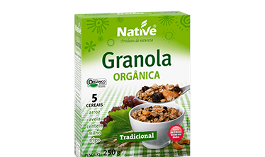 Granola Orgânica Native Tradicional