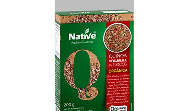 Quinoa Vermelha em Flocos Orgânica Native