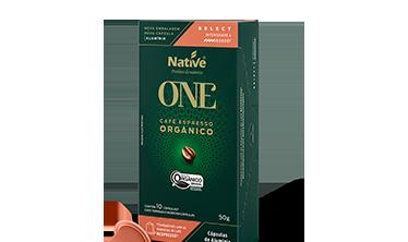 Café Orgânico Espresso em Cápsulas Select